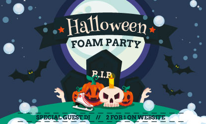 Gosport Halloween Foam Party 2For1