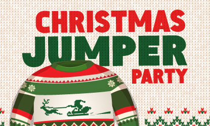 Cannock Christmas Jumper Party 2For£10