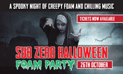 Uttoxeter Halloween Foam Party